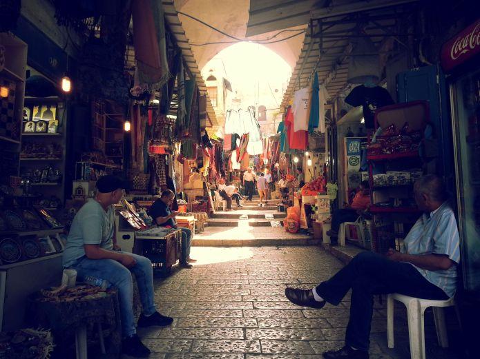 השוק המוסלמי